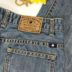 Lucky Brand High Rise Billy Straight Jeans